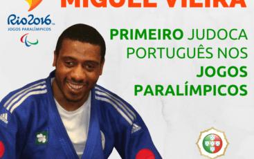 Primeiro Judoca Português  nos Jogos Paralímpicos